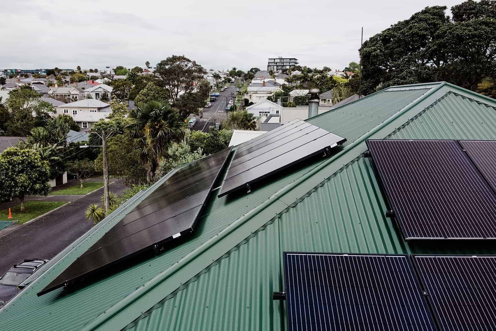 Auckland Residential Solar Power Panel Installation